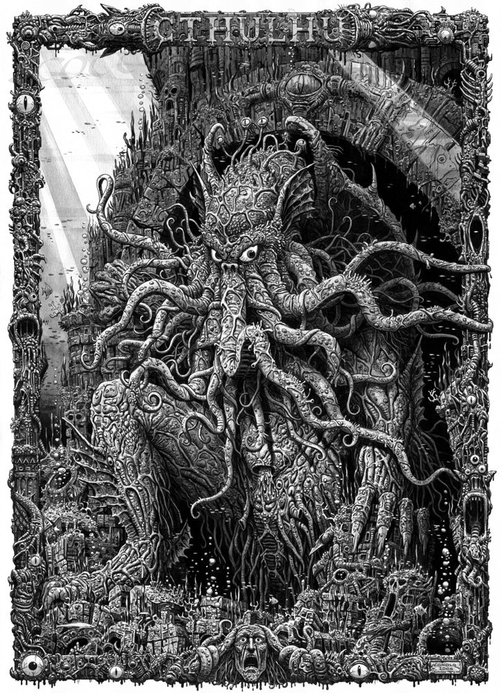 cthulhu in scott burnleys comolo giorgio 2 comic art