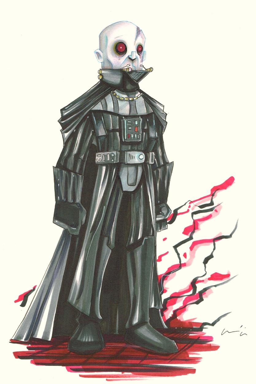Darth Vader Unmasked - Uminga, in Byron Hamm's Star Wars ...