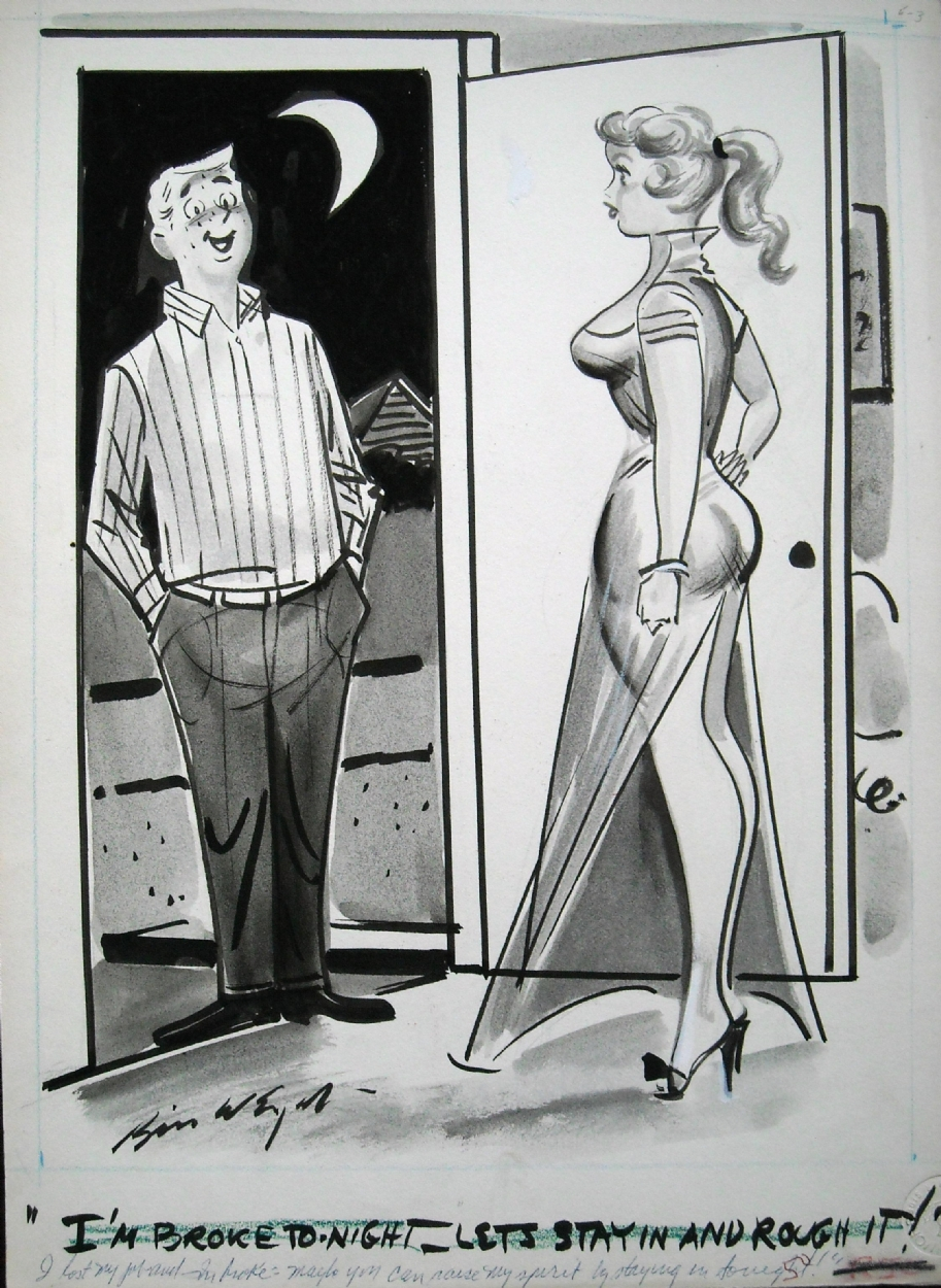 Bill Wenzel Humorama Illustration In Chris Parente S New