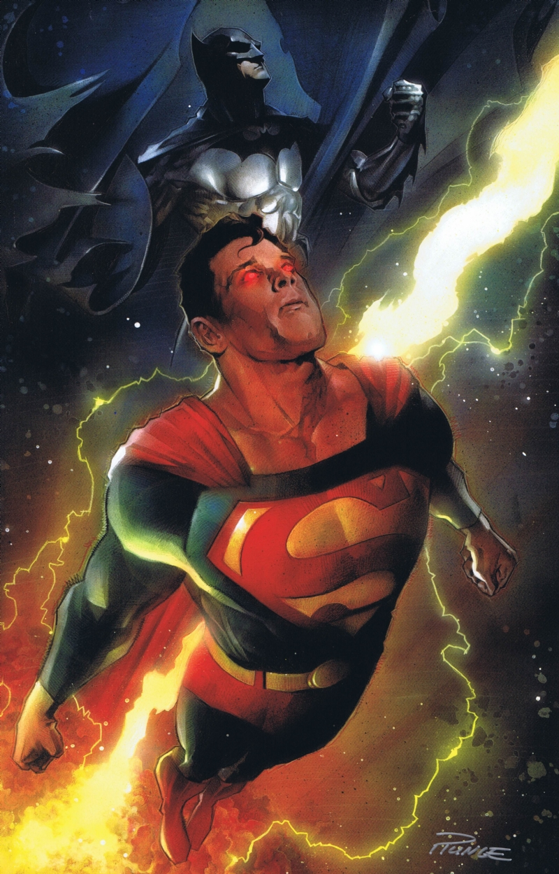 Dc Comics Fans : Superman batman painting print by nick runge in dave