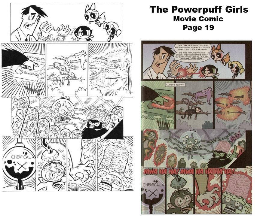 Powerpuff girls comic strips labour. agree