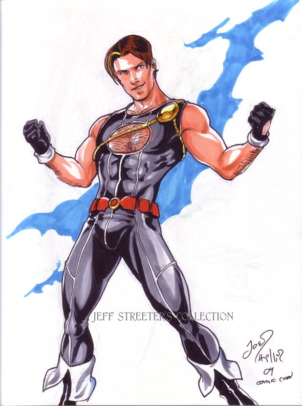 Power Boy By Joe Philips In Jeffrey Streeter S Sketchbook