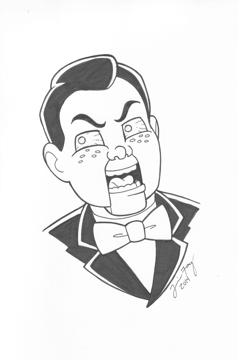 Slappy The Dummy From Goosebumps By Jamie Fay  In Jude