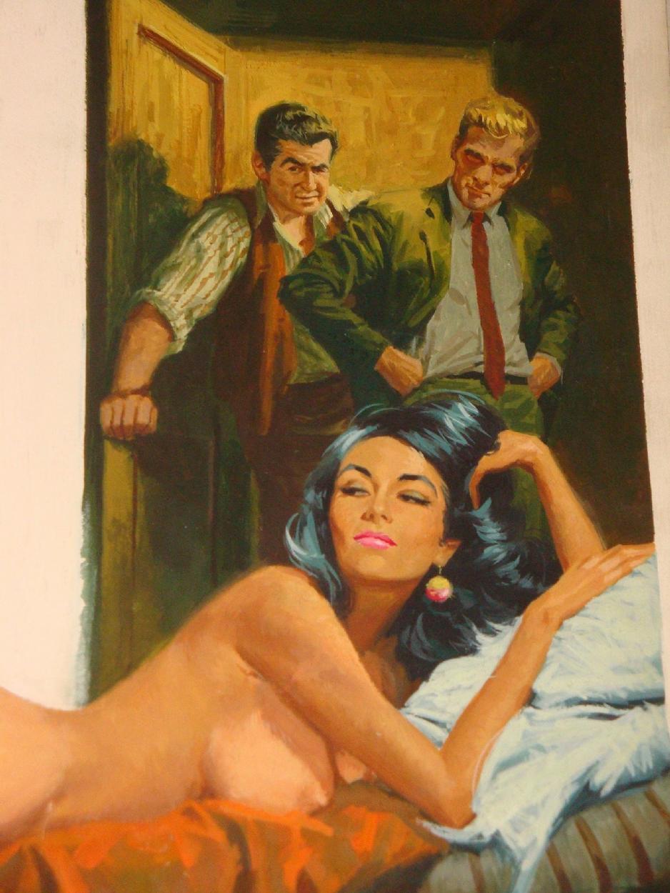 Vintage Magazine Art 7