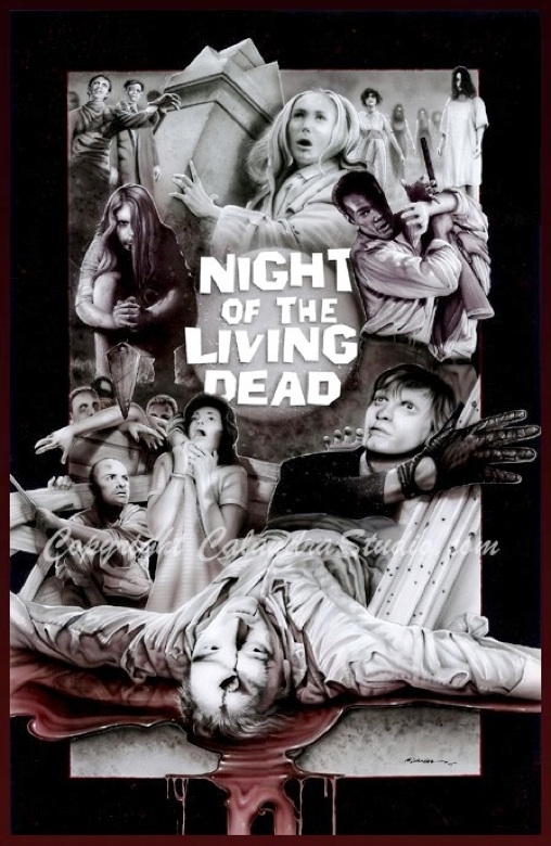 Night of the living dead collage in kevin 39 s gallery 39 s - Leave you dead in the living room ...