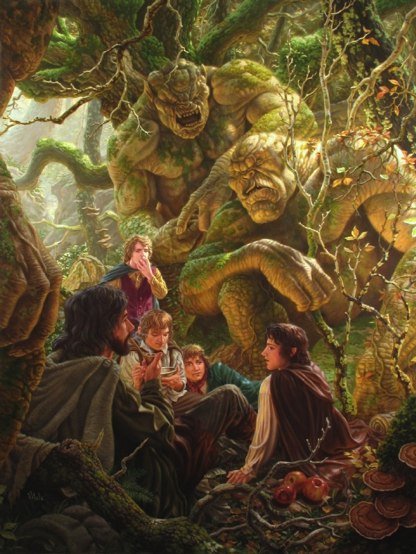 Second Breakfast by Raoul Vitale (from Tolkien's Lord of ...