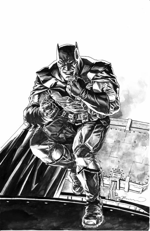 Batman By Lee Bermejo In George 1 S Dc Art Comic Art