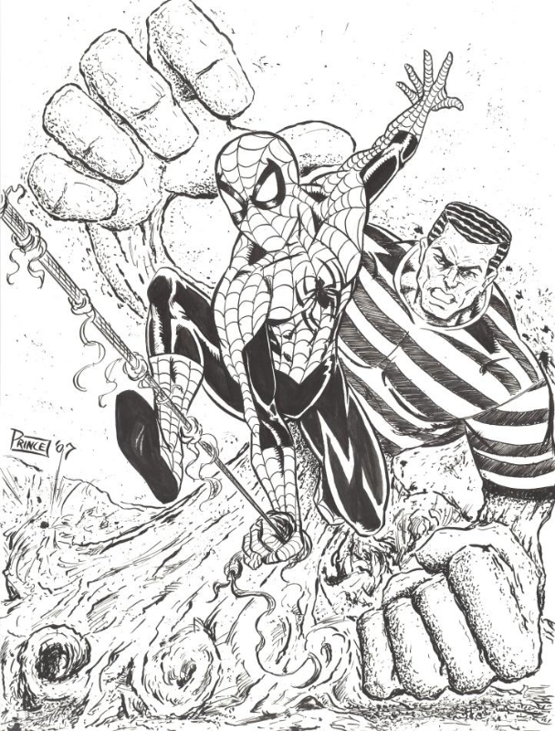 Spider-Man vs Sandman by Buddy Prince, in Eric T's Prince ...