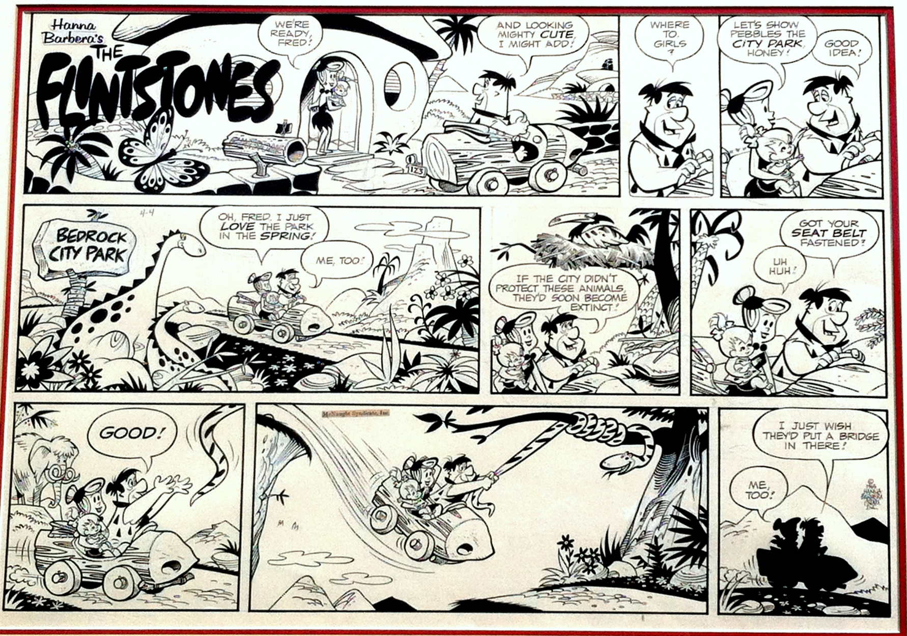Comic strip art restoration