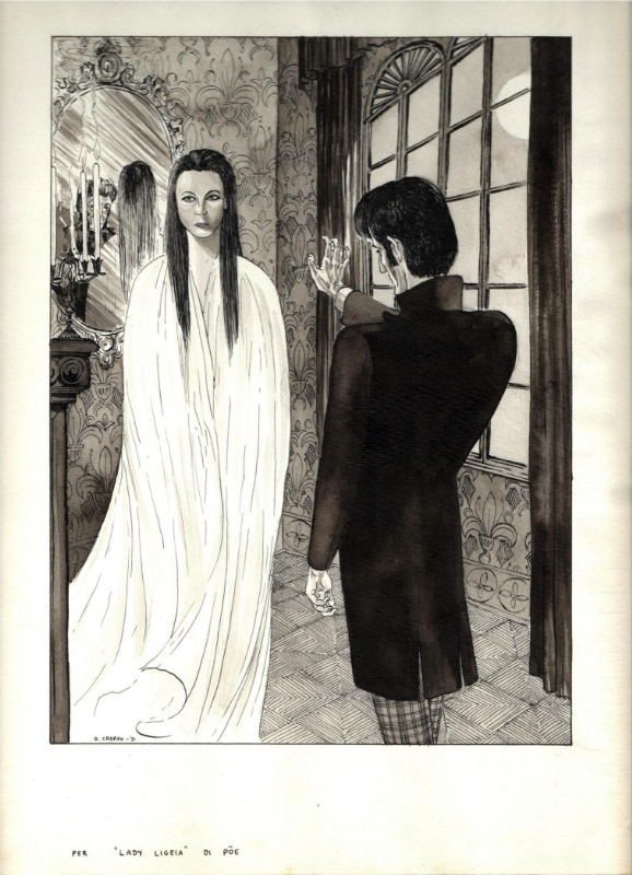 Cobb Auto Sales >> ILLUSTRATION FOR LIGEIA BY EDGAR ALLAN POE, in Mister ...